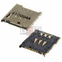 Коннектор SIM-карты для Sony Ericsson LT30p Xperia T; Sony LT22i Xperia P