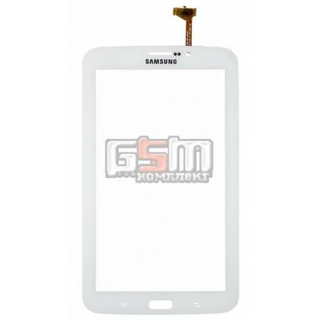 Тачскрин для планшета Samsung P3200 Galaxy Tab3, P3210 Galaxy Tab 3, T210, T2100 Galaxy Tab 3, T2110 Galaxy Tab 3, белый, (верси