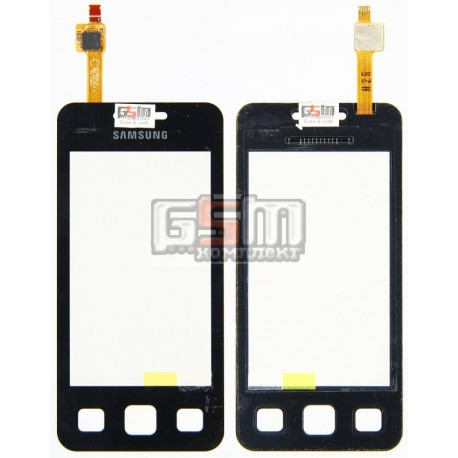Тачскрин, сенсор для Samsung C6712, оригинал, черный, (GH59-10814A)