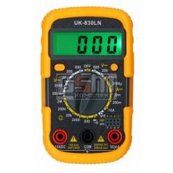 Мультиметр UK-830LN підсвічування