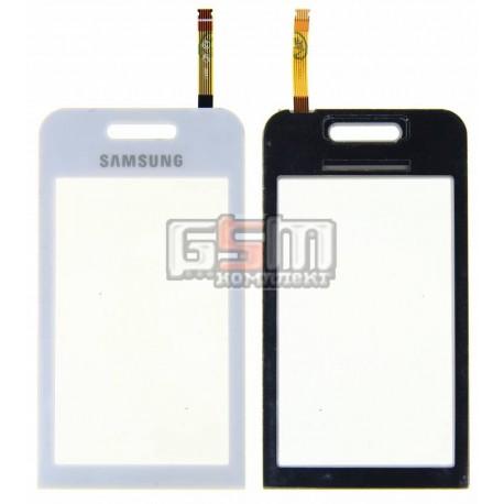Тачскрин для Samsung S5230 Star, белый