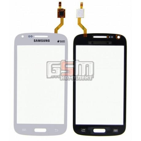 Тачскрин для Samsung I8260 Galaxy Core, I8262 Galaxy Core, белый