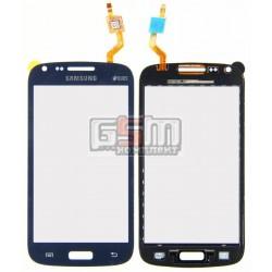 Тачскрин для Samsung I8260 Galaxy Core, I8262 Galaxy Core, синий