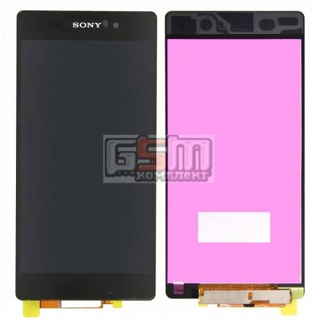 Дисплей для Sony D6502 Xperia Z2, D6503 Xperia Z2, черный, original (PRC), с сенсорным экраном (дисплейный модуль)
