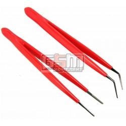 Набор пинцетов с изолированными ручками (2 шт.) Pro'sKit 908-T301