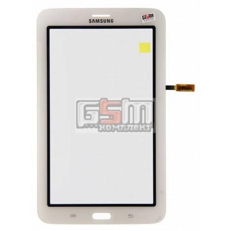 Тачскрин для планшета Samsung T111 Galaxy Tab 3 Lite 7.0 3G, белый, (версия 3G)