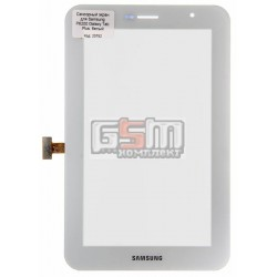 Тачскрин для планшета Samsung P6200 Galaxy Tab Plus, белый
