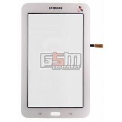 Тачскрин для планшета Samsung T110 Galaxy Tab 3 Lite 7.0, T113 Galaxy Tab 3 Lite 7.0, T115 Galaxy Tab 3 Lite 7.0, белый, (версия Wi-fi)