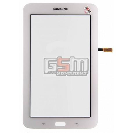 Тачскрин для планшета Samsung T110 Galaxy Tab 3 Lite 7.0, T113 Galaxy Tab 3 Lite 7.0, T115 Galaxy Tab 3 Lite 7.0, белый, (версия