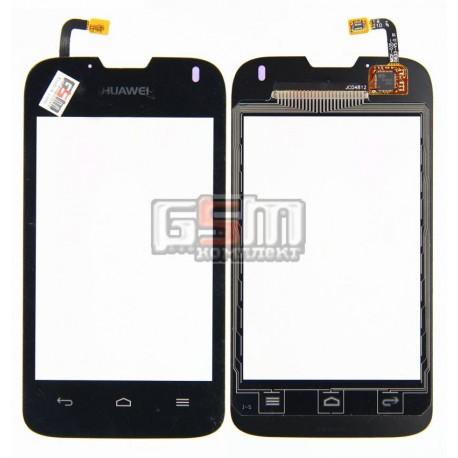 Тачскрин для Huawei Ascend Y210D, U8685 Ascend Y210, черный
