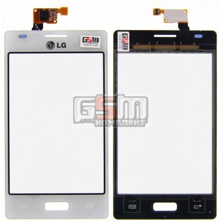 Тачскрин для LG E610 Optimus L5, E612 Optimus L5, белый
