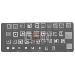 BGA-трафарет A425 для мобильного телефона China-phone universal, MT6572A, SC6825C, MT6582, MT6285, MT6575A, MT6252CA, 39 in 1