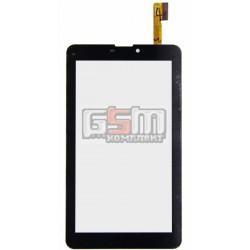 """Tачскрин (сенсорный экран, сенсор) для китайского планшета 7"""", 30 pin, с маркировкой YTG-C70059-F1 V1.0, YJ178FPC-V0(T711A), CZY"""