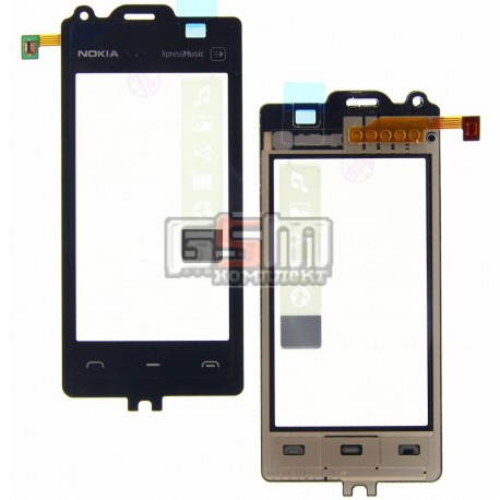 Тачскрин для Nokia 5530, черный
