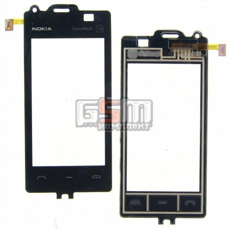 Тачскрин для Nokia 5530, черный, копия