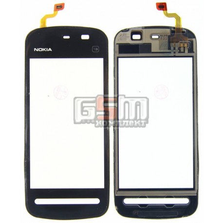 Тачскрин для Nokia 5228, 5230, 5233, 5235, черный, copy