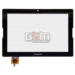 Тачскрин для планшета Lenovo IdeaTab A7600, черный, #MCF-101-1325-V3