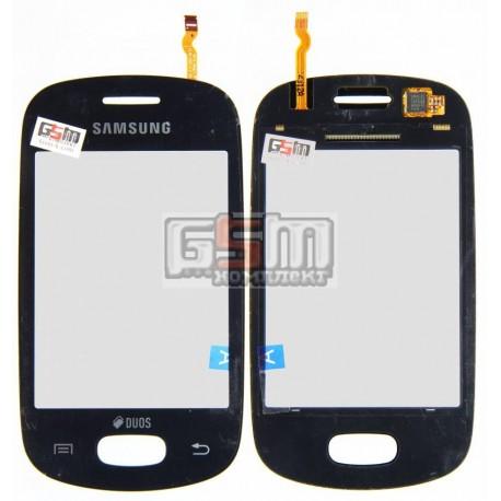 Тачскрин для Samsung S5282, S5310, черный