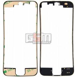 Рамка крепления дисплея для Apple iPhone 5, черная