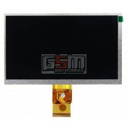"Экран (дисплей, монитор, LCD) для китайского планшета 7"", 50 pin, с маркировкой H-B07015FPC-32, MF0701595002A, M070VGB50-09A1, F"