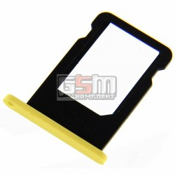 Держатель SIM-карты для Apple iPhone 5C, желтый