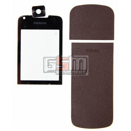 Стекло корпуса для Nokia 8800 Arte, saphire, полный комплект