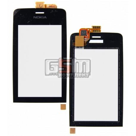 Тачскрин для Nokia 308 Asha, 309 Asha, 310 Asha, черный