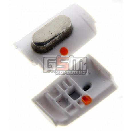 Пластик кнопки отключения звука для Apple iPhone 3G, iPhone 3GS, белый