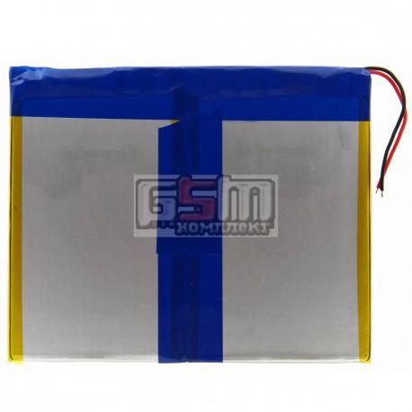 Аккумулятор для китайского планшета, универсальный (107*140*4,0 мм), (Li-ion 3.7V 6500mAh)