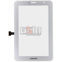Тачскрин для планшета Samsung P3100 Galaxy Tab2 , P3110 Galaxy Tab2 , белый, (версия 3G)