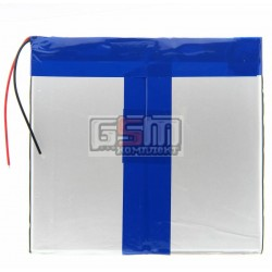 Аккумулятор для китайского планшета, универсальный (110*124*3,8 мм), (Li-ion 3.7V 5100mAh)
