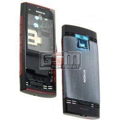 Корпус для Nokia X2-00, красный, high-copy
