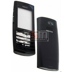 Корпус для Nokia X2-02, черный, high-copy