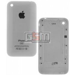 Задняя панель корпуса для мобильного телефона Apple iPhone 3GS, белый, копия AAA, 16 GB