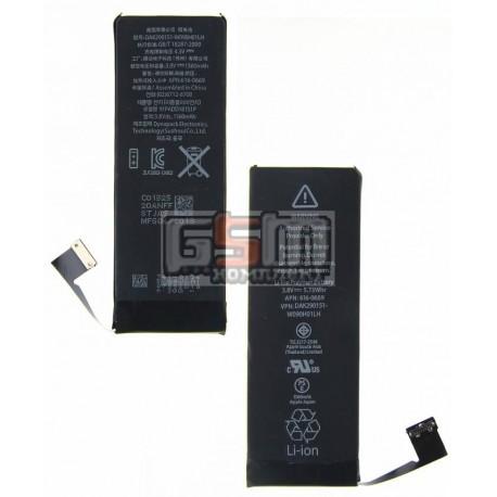 Аккумулятор для Apple iPhone 5S, (Li-Polymer 3.8V 1560mAh), #616-0720
