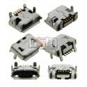 Коннектор зарядки для Blackberry 8220, 8520, 8530, 9100, 9520, 9550, 9700, 5 pin, тип 5, micro-USB тип-B