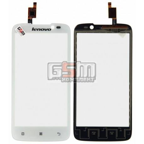 Тачскрин для Lenovo A516, белый