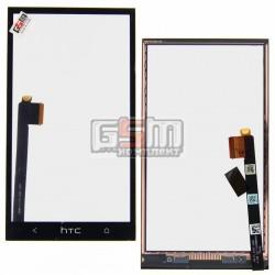 Тачскрин для HTC One M7 801e, One M7 801n, черный