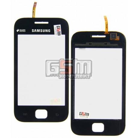 Тачскрин для Samsung S6352, S6802, черный