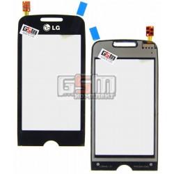 Тачскрин для LG GS290, черный