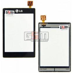 Тачскрин для LG T300, черный