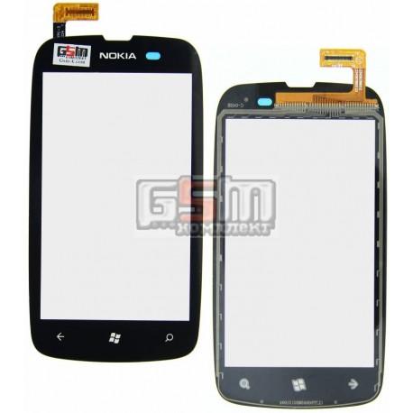 Тачскрин для Nokia 610 Lumia, черный