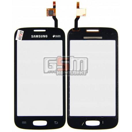 Тачскрин для Samsung S7260 Galaxy Star Plus, S7262 Galaxy Star Plus Duos, черный