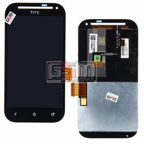 Дисплей для HTC T326e Desire SV, черный, с сенсорным экраном (дисплейный модуль)