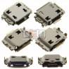 Коннектор зарядки для Samsung B7722, B7722i, C3530, I5700 Galaxy Spica, I5800 Galaxy 580, I717, I7500, I8000 Omnia II, I8510, I9