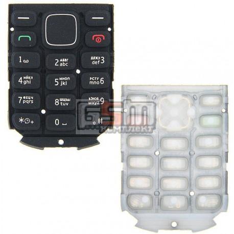 Клавиатура для Nokia 1280, черная, русская