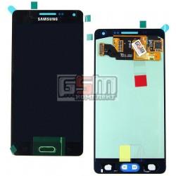 Дисплей для Samsung A500F Galaxy A5, A500FU Galaxy A5, A500H Galaxy A5, синий, с сенсорным экраном (дисплейный модуль)
