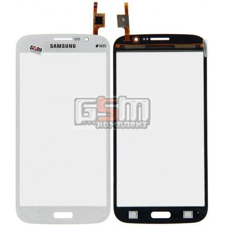 Тачскрін для Samsung I9150 Galaxy Mega 5.8, I9152 Galaxy Mega 5.8, білий