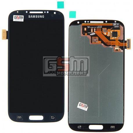 Дисплей для Samsung I337, I545, I9500 Galaxy S4, I9505 Galaxy S4, I9506 Galaxy S4, I9507 Galaxy S4, M919, синий, с сенсорным экр