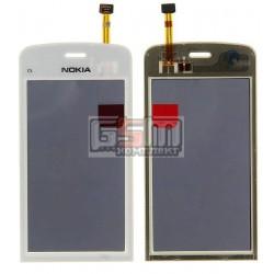 Тачскрин для Nokia C5-03, C5-06, белый